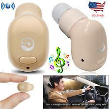 Wireless Bluetooth Headset Mini Handfree Earpiece For Samsung S7 S8 Motorola Z2
