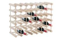 J.K. Adams 40 Bottle Modular Wine Rack Natural MWR40