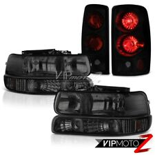 "2000-2006 Chevy Suburban 1500 Bumper+Headlights ""Sinister Black"" Tail Brake Lamp"
