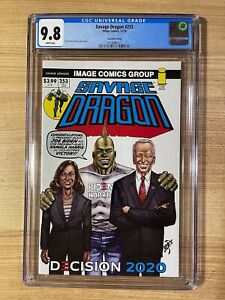 Savage Dragon #253 (2020 Image Comics) Joe Biden Variant 2nd Print CGC 9.8