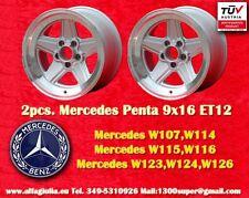 2 Cerchi AMG Mercedes Penta Style 9x16 ET12 Wheels Felgen Llantas Jantes mit TÜV