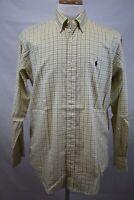 RALPH LAUREN Men's Long Sleeve Blake Button Down Dress Shirt size S Lot M
