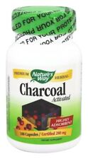 Nature's Way Highly Absorbent Charcoal Activated 280 mg - 100 caps DIGESTIVE AID