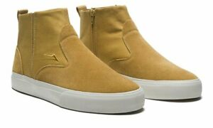 Lakai Shoes Riley Mid Boot Tobacco Suede USA SIZE Skateboard Sneakers