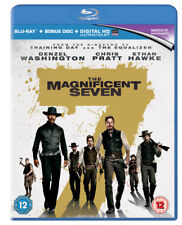The Magnificent Seven Blu-ray 2016 Denzil Washington 1st Class Post