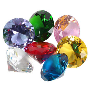 20mm Faux Diamond Jewels Treasure Chest Pirate Acrylic Crystal Gems Filler Toys