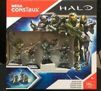 Mega Construx Halo Blue Team Set DYH87 NEW RARE