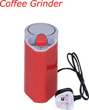 Electric Coffee Grinder Red Mixer Bean & Dry spice Crusher 150W Max New