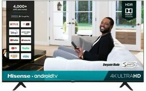 "Hisense H65G 58"" 4K UHD HDR Smart Android TV - 2020 Model *58H6570G"