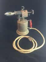 Vintage Rustic Blow Torch Lamp with LED Bulb