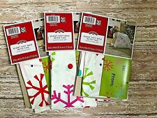 "Set of 3 Holiday xmas giant bike Gift Bags 36"" x 44"" Xmas wrapping Presents"