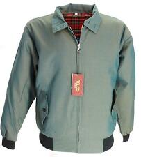 Retro Green/Gold Tonic Mod Harrington Jackets In Sizes X Small /3XL Free Postage