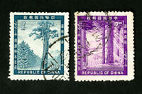 China Stamps # 1096-7 VF Used