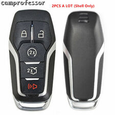 2X Replacement Smart Prox Remote Key Shell Case Fob 5B for Ford M3N-A2C31243300