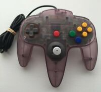 Nintendo 64 N64 Controller - Atomic Purple - AUTHENTIC | OEM | TESTED!