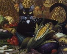 """Charles Wysocki Montana De Oro Cat Print  Image Size 10"""" x 8"""""""