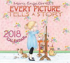 MARY ENGELBREIT - 2018 DELUXE WALL CALENDAR - BRAND NEW - 481766
