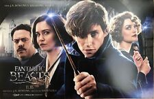 FANTASTIC BEASTS AND WHERE TO FIND THEM Original Movie Promo Poster 11x17 AMC EX