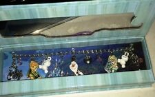 "Disney Store 7""  FROZEN Charm Bracelet  W/ Enameled & Metal Charms   New"