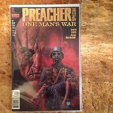 PREACHER SPECIAL (1998) ONE MAN'S WAR HERR STAR VERTIGO Nm
