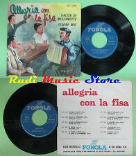 LP 45 7'' WILLIAM Valzer di mezzanotte Tesoro mio italy FONOLA 1042 no cd mc dvd