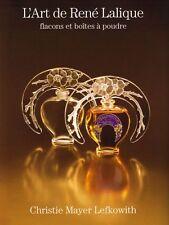 L'Art de René Lalique flacons et boîtes à poudre