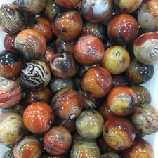40MM Madagascar Agate Ball Sphere Health Crystal Natural Stone Mineral Wholesale