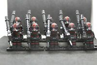 Star Wars Clone Troopers Custom Minifigures: Inferno Squadron Clone Lot of 10