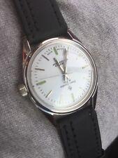 VINTAGE 70s HENRI SANDOZ & FILS 17J mano a carica automatica Swiss made uomo orologio da polso Nuovo di zecca