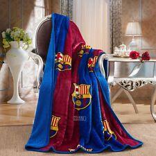 "FC Barcelona Luxury Sherpa Throw Blanket 50""x60"""