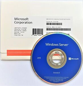 Windows Server 2019 16 Cores (Sealed) Fast Shipping