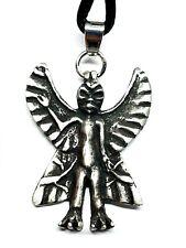 More details for pazuzu devil demon statue pendant assyrian king exorcist cord bead necklace