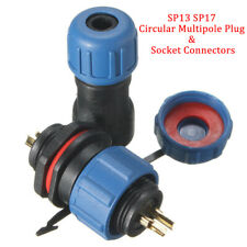2Pin Waterproof Connector Aviation Power Cable Connector Plug Sealed Round IP68