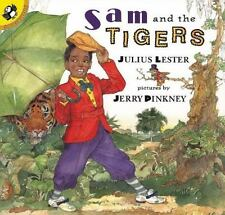 Sam and the Tigers by Julius Lester & Jerry Pinkney pb Age 4-8 New remainder dot
