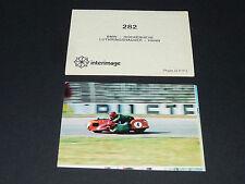 N°282 SIDE-CAR LUTHRINGSHAUSER HAHN PILOTE MOTO COURSES 1976 INTERIMAGE PANINI