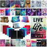 """US For Samsung Galaxy Tab A 7.0 8.0 10.1"""" Tablet Pattern Leather Flip Case Cover"""