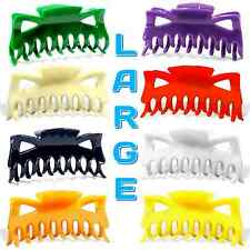 """Hair Claw Clip Large Size 4.5"""" Plastic Butterfly Clips Choose Color B3G1 FREE"""