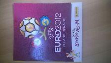 Panini EM 2012 Komplett 540 Sticker + Leeralbum + D1-D20, EURO,Fußball,Sticker
