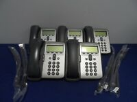 Cisco CP-7912G IP Phone Gray 7912G 7900 Series Base Handset Curly Cord Lot 5x