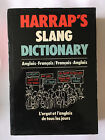 DICTIONARY ANGLAIS FRANCAIS FRANCAIS ANGLAIS HARRAP'S SLANG 1983 ARGOT
