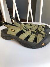 KEEN Mens/women's Athletic Sandals Green Water Shoes Waterproof 7.5