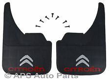 Universal Car Mudflaps Front Rear Citroen Logo 2CV AX Berlingo BX Mud Flap Guard
