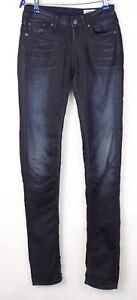 G-STAR RAW Femme Extensible Slim Skinny Jean Taille W27 L34 AVZ1116