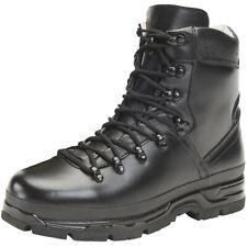 Brandit Bw Berg Laarzen Leather Wandelen Tactische Outdoor Mens Shoenen Zwart