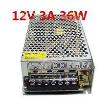 3A 12V 36W LED Driver Strip Lighting Transformer 3528 Power Supply AC 110V/220V