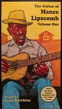 The Guitar of Mance Lipscomb Volume One taught by Ernie Hawkins VHS tape NM