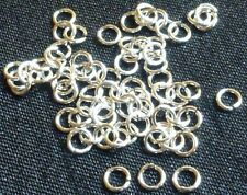 Sterling silver open jump rings 3mm, 50pcs, 24ga  jewelry findings jewellery