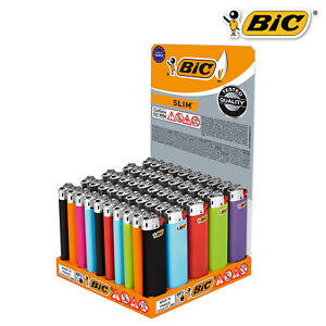 BIC SLIM J23 Feuerzeuge 5 / 10 / 25 oder 50 Stück Original!