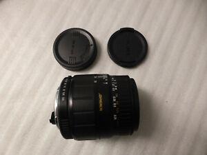 Sigma 28-80mm f/3.5-5.6 Auto-focus Macro Zoom Lens for Pentax K mount