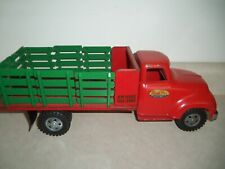 1950s TONKA STAKE TRUCK CONSTRUCTION Vintage Toy LUMBER DELIVERY
